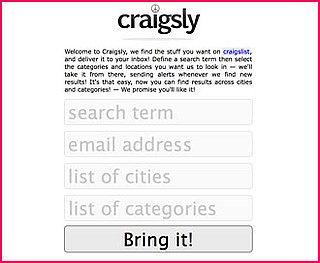 Website of the Day: Craigsly