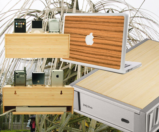 Geeky Products Made From Bamboo
