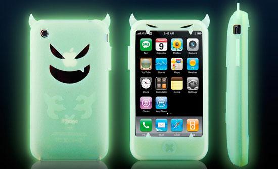 Photos of the Glow-in-the-Dark Demon iPhone Case
