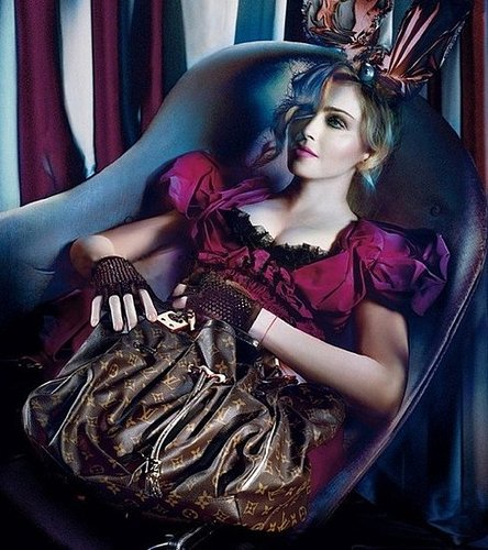 2009 Fall Louis Vuitton Ad Campaign Featuring Madonna