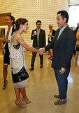 Shenae Grimes Meets Phillip Lim