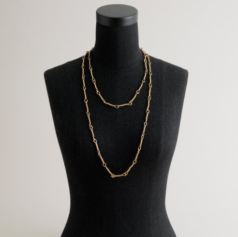 Necklaces, like this Slim Rope Necklace, ($45) are ideal for everyday use.