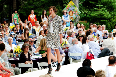 Oscar de la Renta Lake Tahoe Fashion Show Luncheon 2009