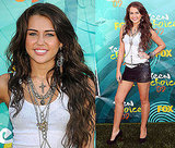 Photos of Miley Cyrus at the 2009 Teen Choice Awards