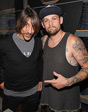 Anthony Kiedis and Joel Madden