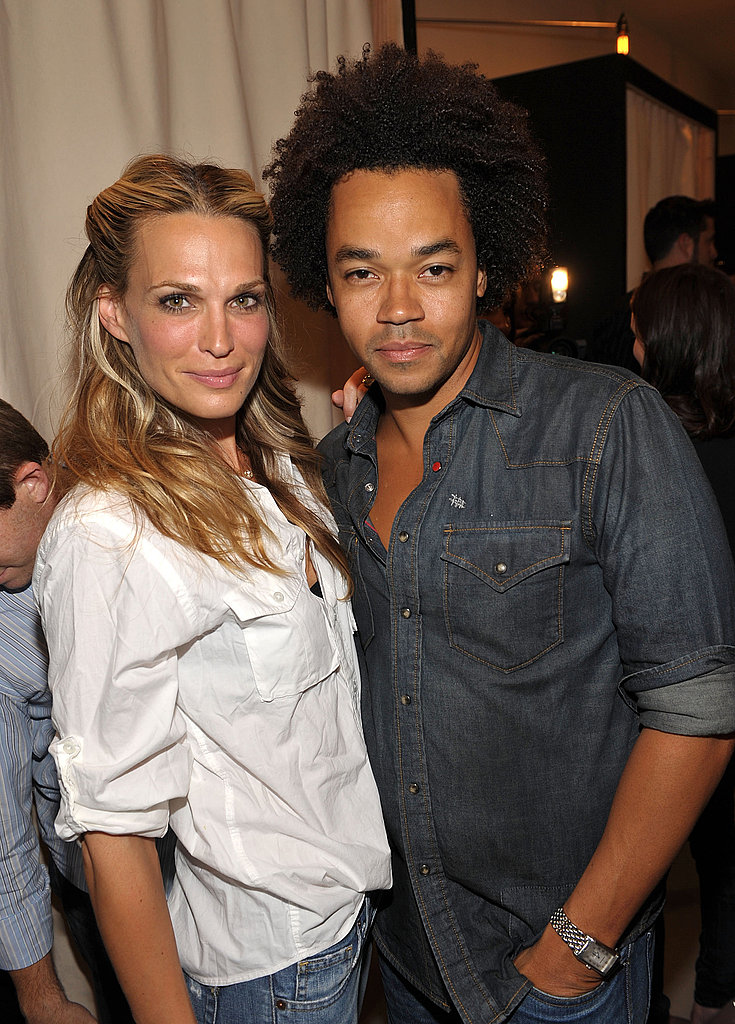 Molly Sims and Patrick Robinson