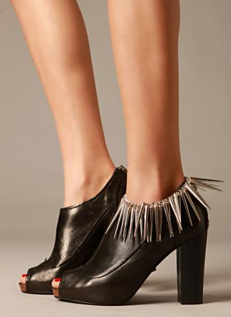 Free People Spike Ankle Bracelet