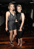 Diane (in Miu Miu) and Melanie Laurent