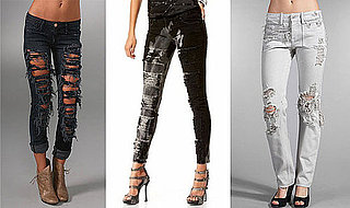 How Much Is Too Much When It Comes to Shredded Jeans?