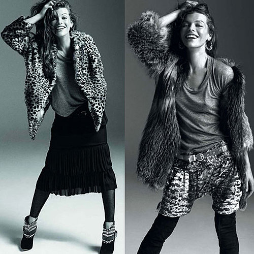 Isabel Marant Fall &#039;09 Ad Campaign Featuring Milla Jovovich