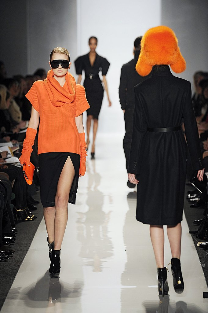 Michael Kors's Orange and Black Contrast