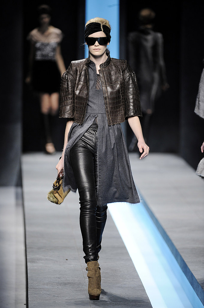 Fendi's Leather Layers