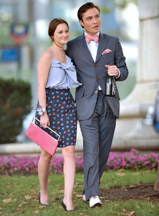 Behind-the-Scenes Photos of Gossip Girl Season Three