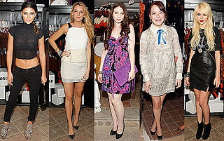 Gossip Girl Stars Gather at Anna Sui For Target Pop-Up Shop in NYC to Party