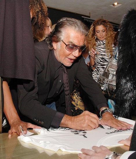 Roberto Cavalli does his part