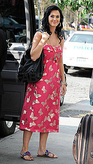 Katy Perry Carries Yves Saint Laurent's Roady Handbag