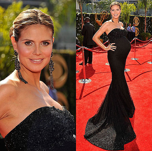 Photo of Heidi Klum on the Emmy Awards Red Carpet 2009-09-20 16:20:35