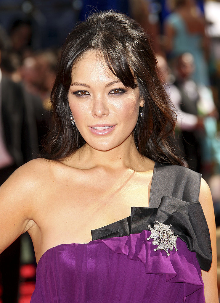 Lindsay Price's Edwardian brooch and two-tone shoulder.