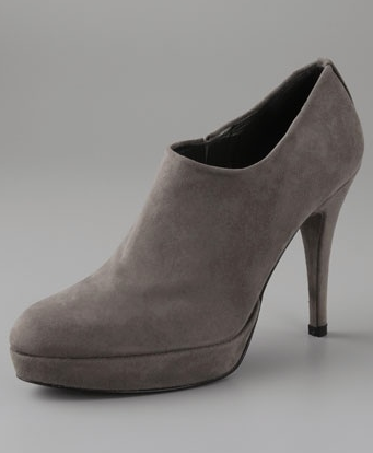 Stuart Weitzman Cover Up High Heel Suede Booties