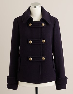 J.Crew Stadium-Cloth Winnie Jacket
