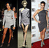 Selita Ebanks and Paula Patton in Gray Draped Minidresses 2009-10-06 07:50:22