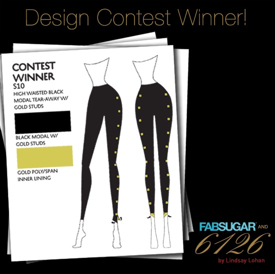 And the Lindsay Lohan 6126/FabSugar Leggings Contest Winner Is . . .