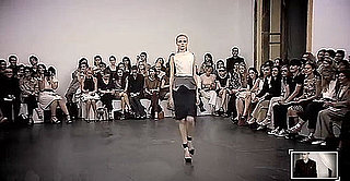 Roland Mouret Live Streams 2010 Spring Collection Runway Show at Paris Fashion Week