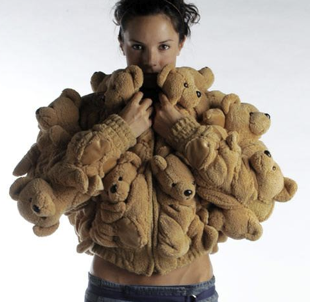 Freaky or Fabulous? Sebastian Errazuriz Stuffed Bear Coat
