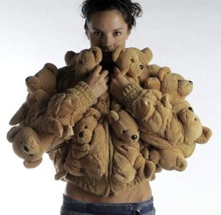 Freaky or Fabulous? Sebastian Errazuriz Stuffed Bear Coat