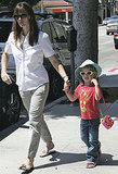 Violet Affleck and Jennifer Garner Wearing Sunglasses