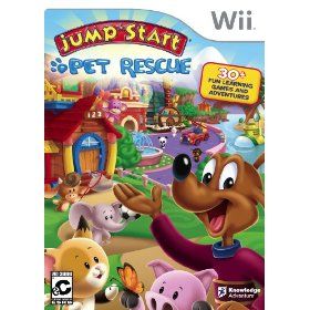 Nintendo Wii JumpStart Pet Rescue