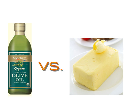 Olive Oil vs. Butter