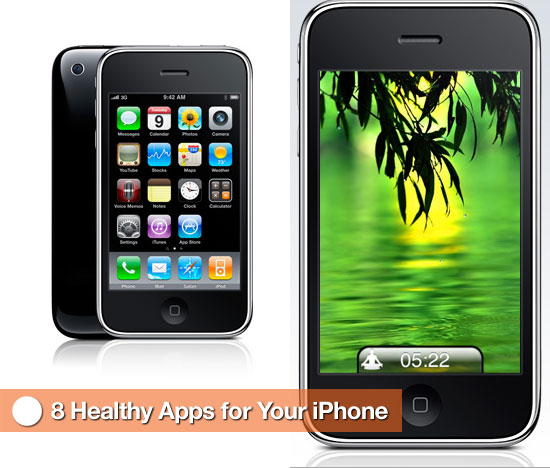 8 Healthy Apps For Your iPhone