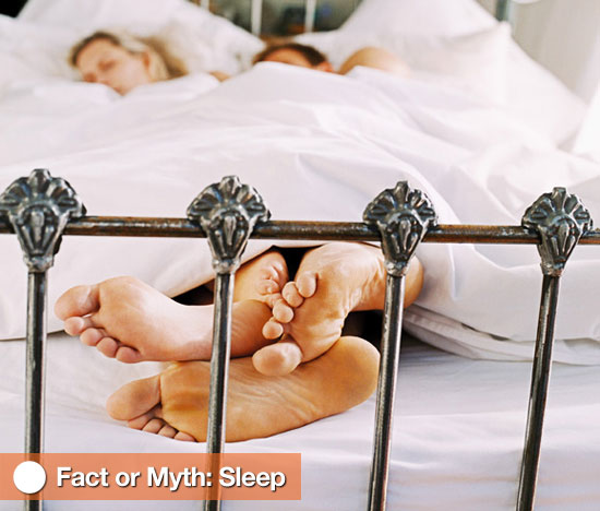 Fact or Myth: Sleep