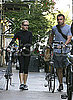 Naomi Watts and Liev Schreiber Riding Bikes in NYC