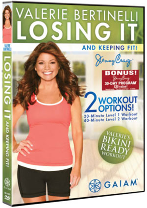 DVD Review: Valerie Bertinelli — Losing It and Keeping Fit