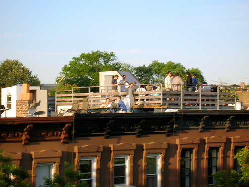 Host Happy Hour on Your Roof