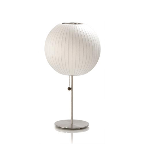George Nelson's Bubble Lamps are mid-century classics that are part of the permanent collection of the Museum of Modern Art in New York. But, there's no reason the Lotus Table Lamp ($375, reduced from $562) can't be part of your home's permanent collection.