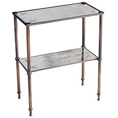 Steal of the Day: Pier 1 Mirrored Two-Tier Console Table