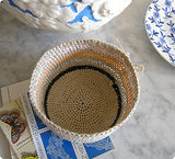 Make a mini crochet basket with Design*Sponge.