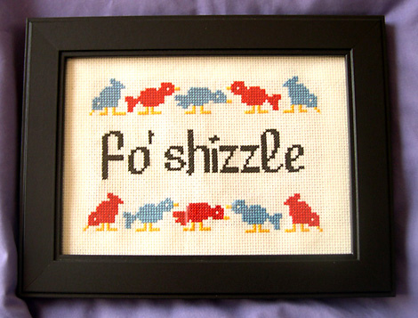 Do You Have Any Cross-Stitching at Your Home?