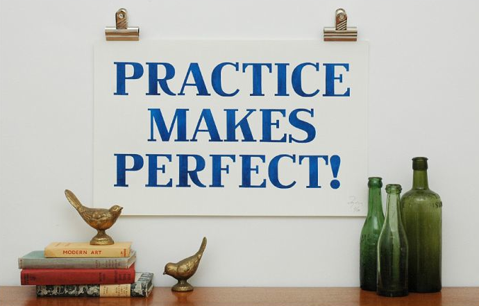 Whether it comes to learning the oboe or keeping your marriage on track, Practice Makes Perfect! ($49.10).