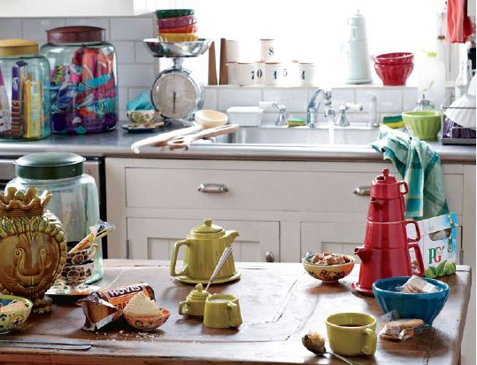 Go Crazy For Color in Your Kitchen