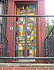 Cool Idea: A Mural-Coated Front Door