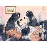 Border collies playing Scrabble . . . I can't think of anything cuter! This Giclee Print ($15) by artist Susan Alison is perfect for herding-dog fans who get their Scrabble on.