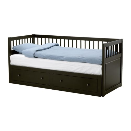 Ikea's classic Hemnes Daybed ($499) has storage beneath it, and has a nice, Arts and Crafts shape.