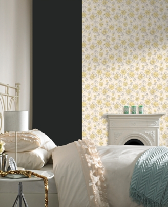 Update the movie's daisy look with this Spring Wallpaper ($60 for a double roll).