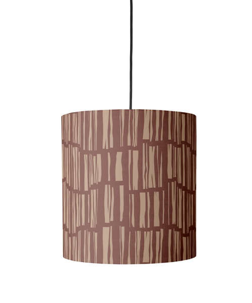 Try hanging the Paper Cloud Wood Planks Pendant ($154-$214) in your home.
