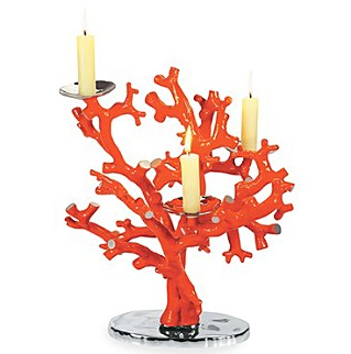 The Michael Aram Coral Reef Candle Holder ($275) will give your pad the same show-stopping flair.