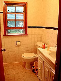 Before and After: A Bathroom Makeover For Under $80